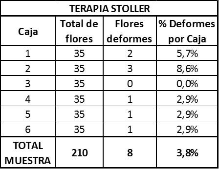 Resultados Stoller