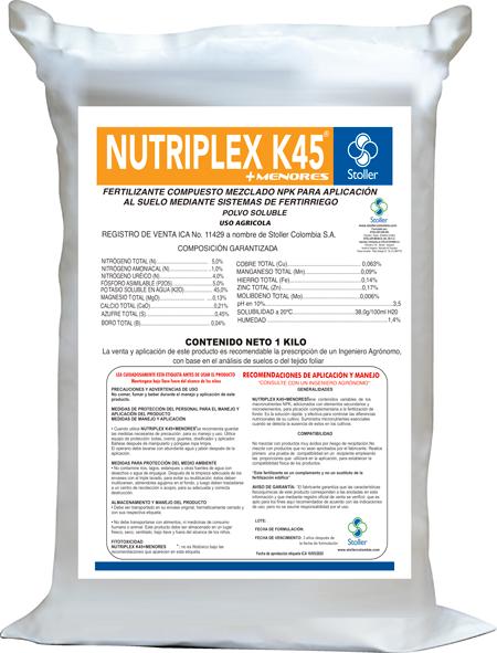NUTRIPLEX-K45
